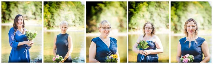 Individual Wedding party Photography - I like to shoot an individual shot of each wedding party member - how often are you so dressed up and looking so awesome?  This wedding was shot in Port Sydney Ontario - Muskoka Wedding by Love Bee Photography