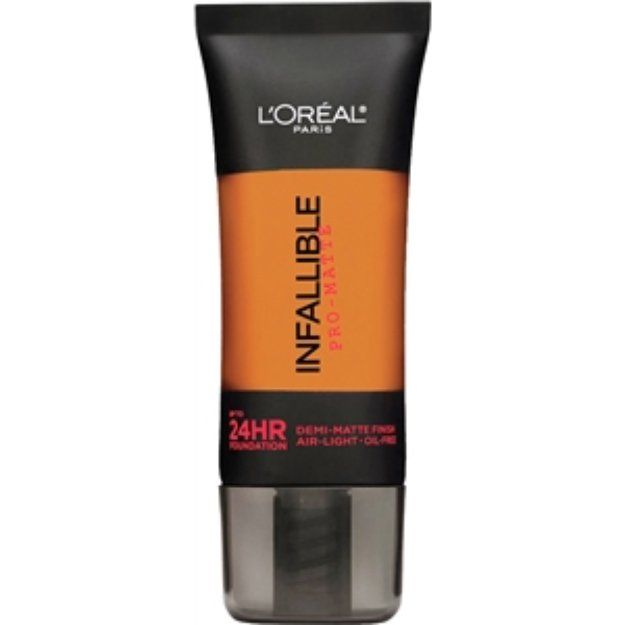 I'm learning all about L'oreal Paris Infallible L'Oreal Paris Infallible Pro-Matte Up to 24 Hr Demi-Matte Finish Foundation, Cocoa, 1 fl oz at @Influenster!