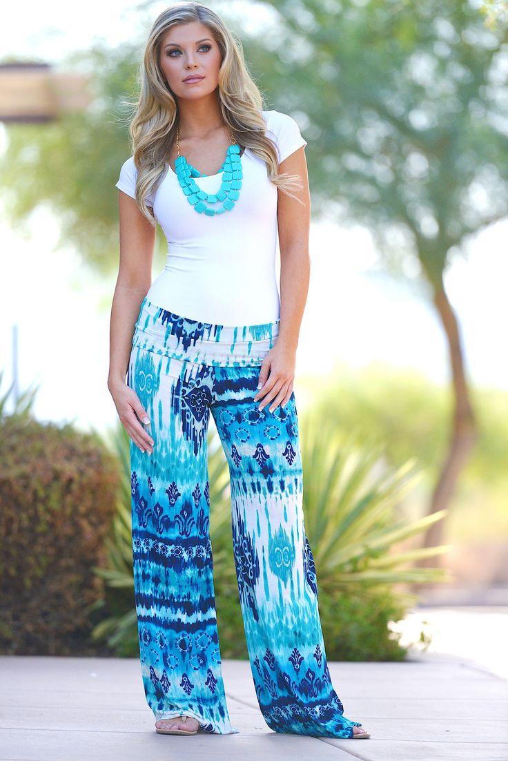 103 best Palazzo Pants Outfits images on Pinterest