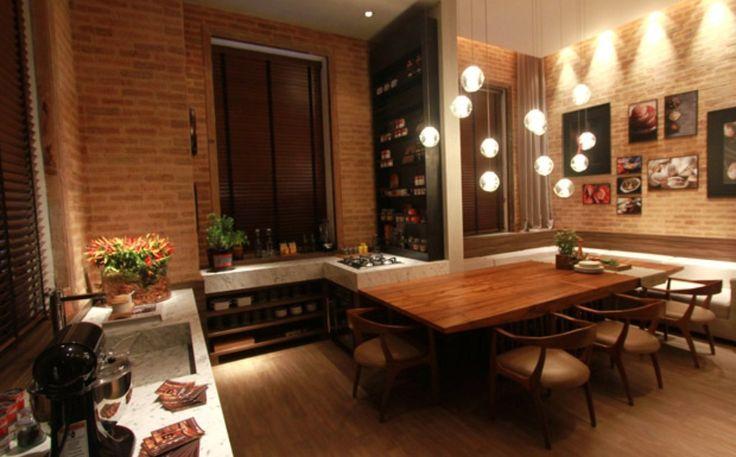 Decoração para inspirar: cozinhas gourmet, com ilha e americana - Casa - GNT