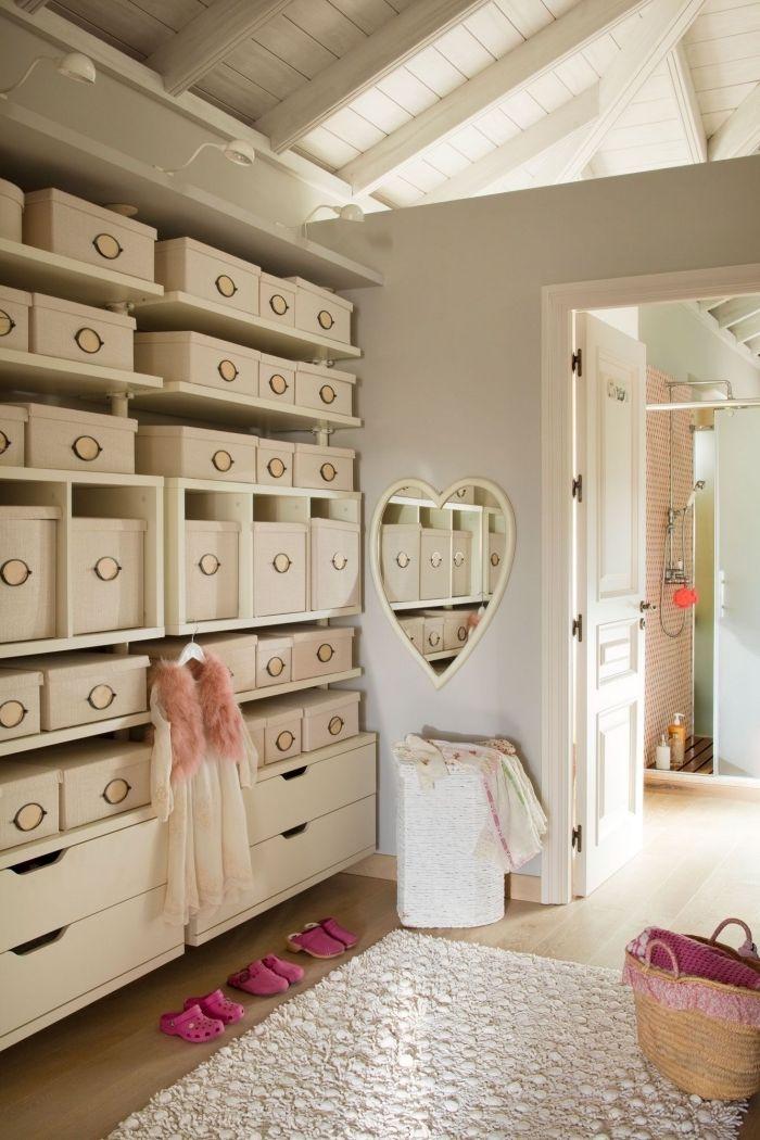 1001 Rangements Malins Pour Trouver La Meilleure Idee Dressing Adaptee A Tout Espace Closet Bedroom Room Home Decor