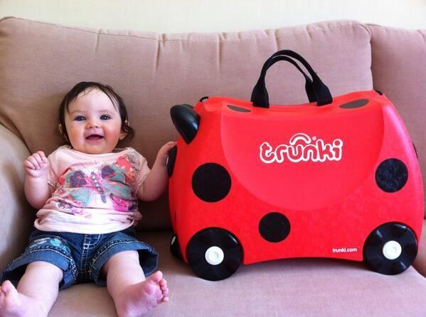 Harley the Ladybug Trunki #cute #baby