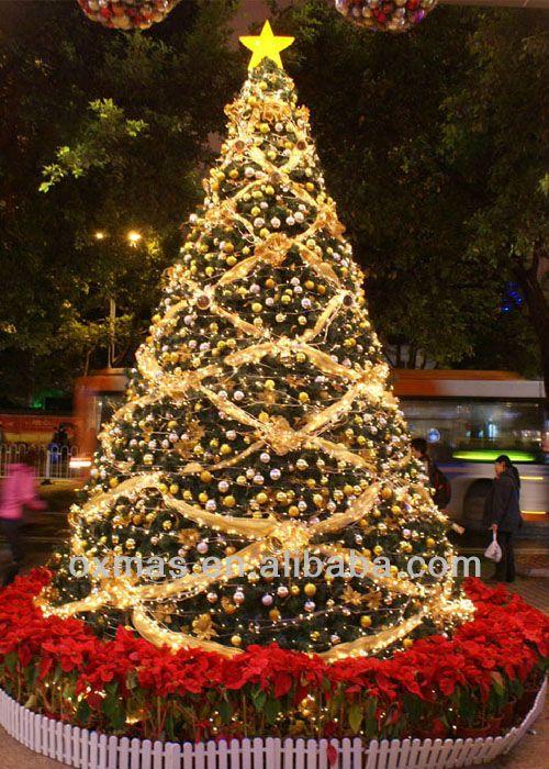 Arboles de navidad decorados con mallas imagui www - Arboles navidad decoracion ...