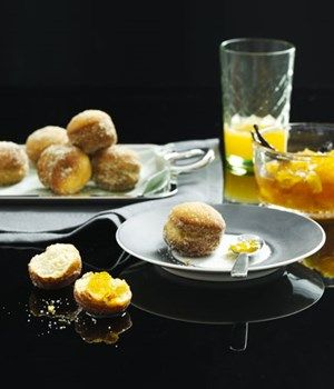 Australian Gourmet Traveller recipe for Mango and yoghurt parfait with passionfruit and pineapple salad