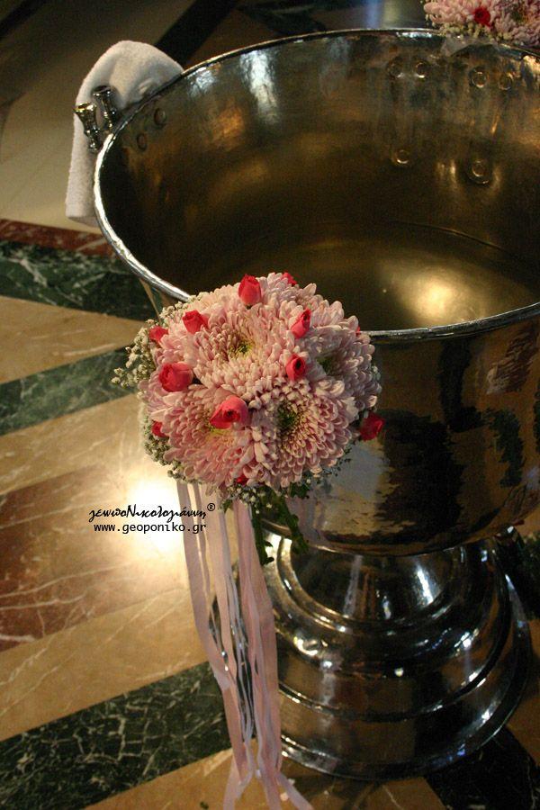 Christening bouquet - Στολισμός κολυμπήθρας