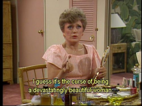 Blanche Devereaux of the Golden Girls
