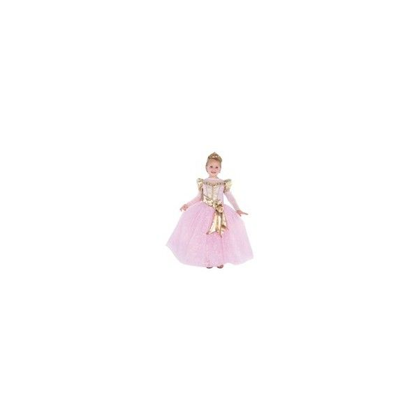 Princess Dress-up Costumes & Accessories - Childrens Disney Princess... ❤ liked on Polyvore featuring costumes, pink costume, disney costumes, disney halloween costumes, disney and pink princess costume