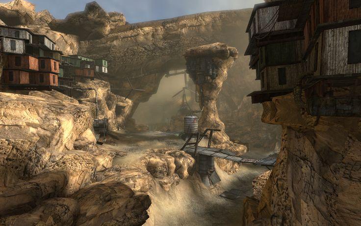 Refuge for Unreal Tournament 3, circa 2009 www.plutonicdesign.com