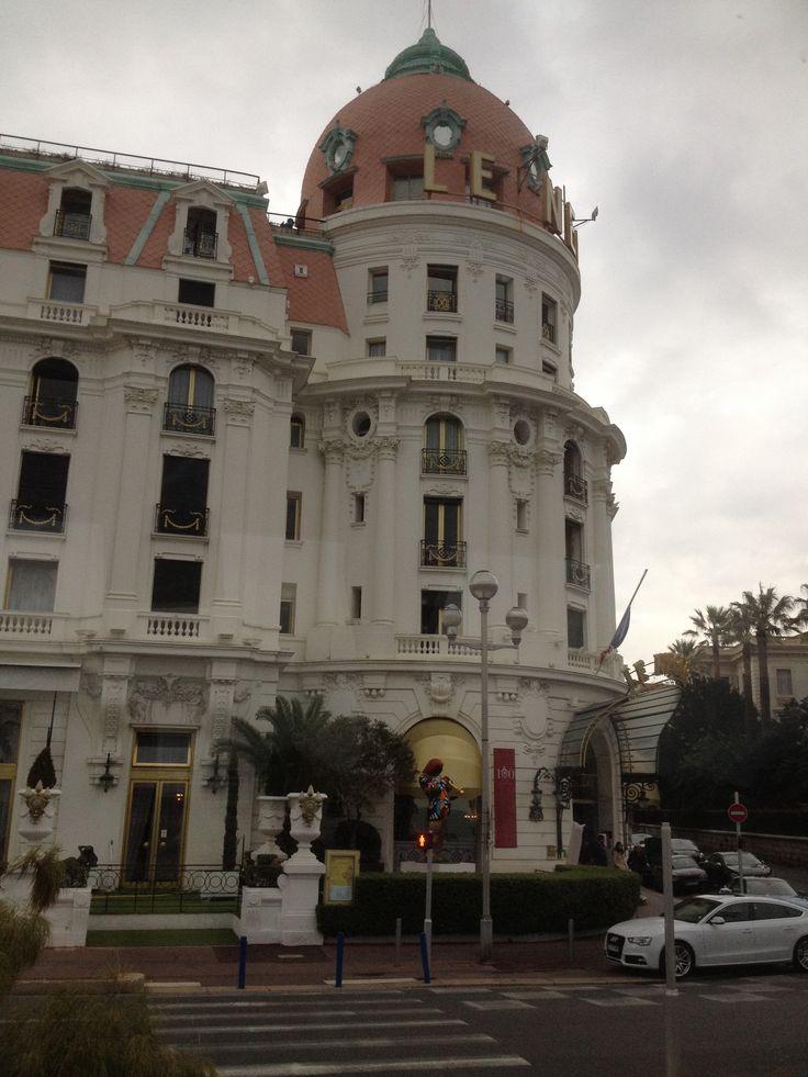 Nice - Promenade des Anglais - Hôtel Negresco. By Stefania Antonelli