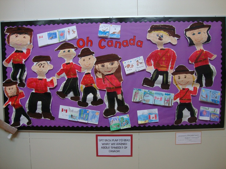 learning about Canadian symbols (grade 1/2)