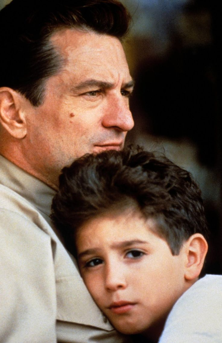 A Bronx Tale - Father and son Lorenzo and 'C' #GangsterFlick