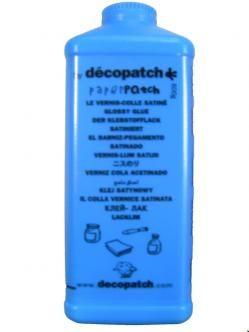 Décopatch barniz pegamento satinado para todos los soportes 600g - Cola barniz - Decoupage - Manualidades - Material Bellas Artes - Piera