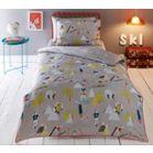 Baker by Ted Baker Kids' multicoloured 'Skiing Bears' duvet cover and pillow case set | Debenhams