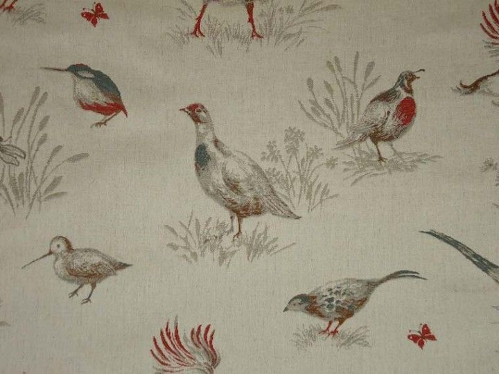 Pheasant fabric<br />We recommend a sample of this fabric if colour is important to you as colours on different screens may vary.