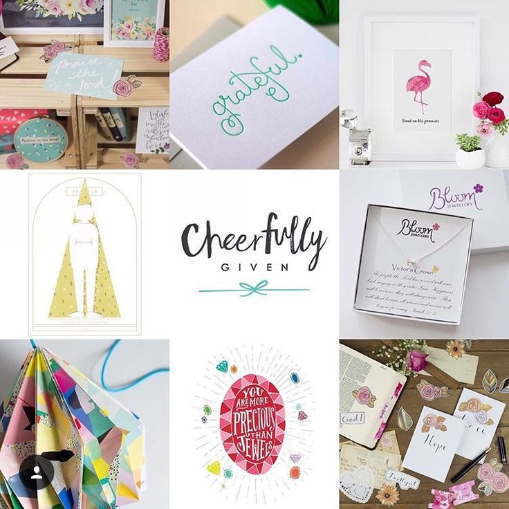 We are so excited that Bloom will be part of the many Christian companies that are going to be featured on the new Cheerfully Given Christian creative gift site. We are sooo excited for their launc…