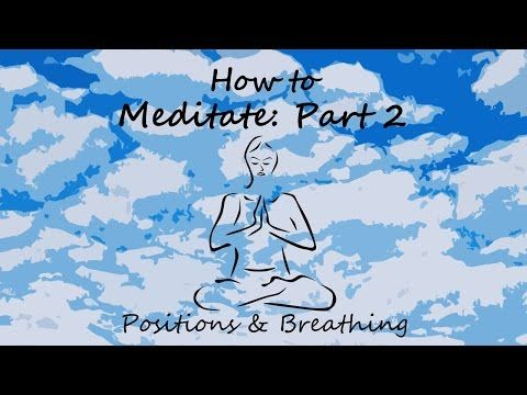 PLEASE CLICK ON THE 'VISIT' BUTTON & SUBSCRIBE TO MY YOUTUBE CHANNEL :-) Meditation Positions & Breathing - How to Meditate #2 with The Serenity Oracle - YouTube