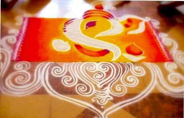 Free hand...shree Ganesha