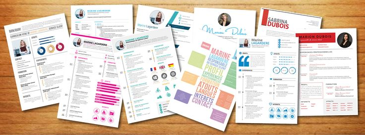 46 best images about cv originaux on pinterest teacher for Teaching dossier template