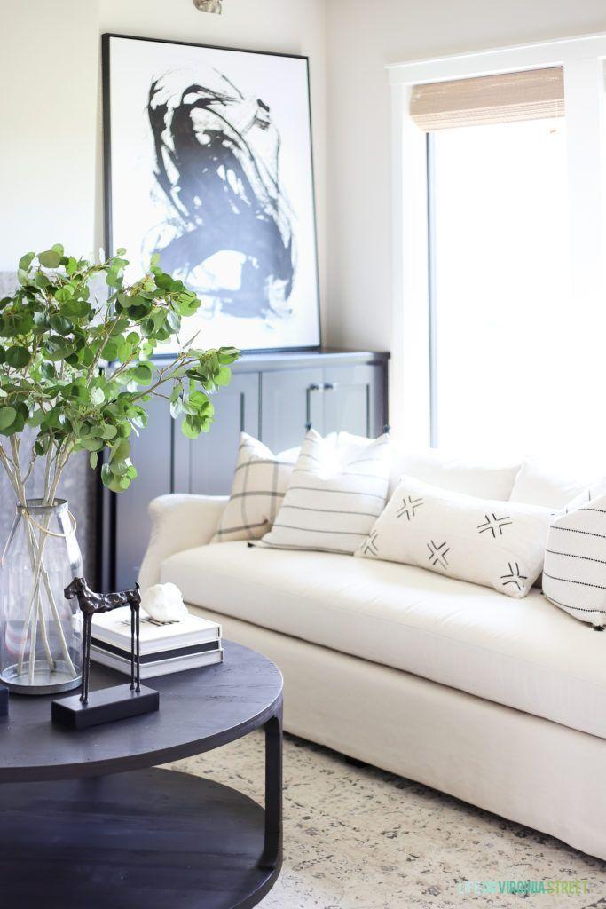 california modern farmhouse home tour beautiful furniture living rh pinterest com