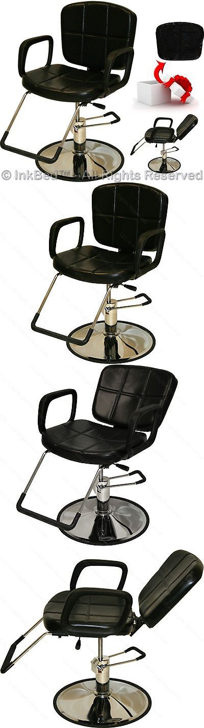 Other Tattoos and Body Art: Inkbed Tattoo Black Reclining Hydraulic Barber Chair Ink Bed Salon Equipment BUY IT NOW ONLY: $149.88