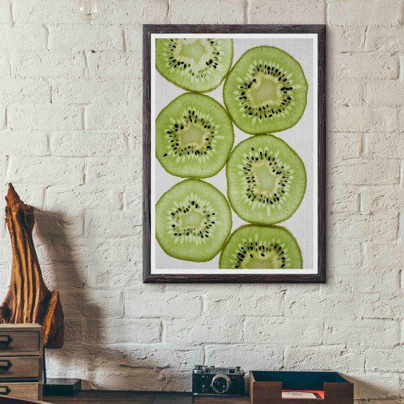 1000 ideas about fruit kitchen decor on pinterest apple - Kitchen curtains with fruit design ...