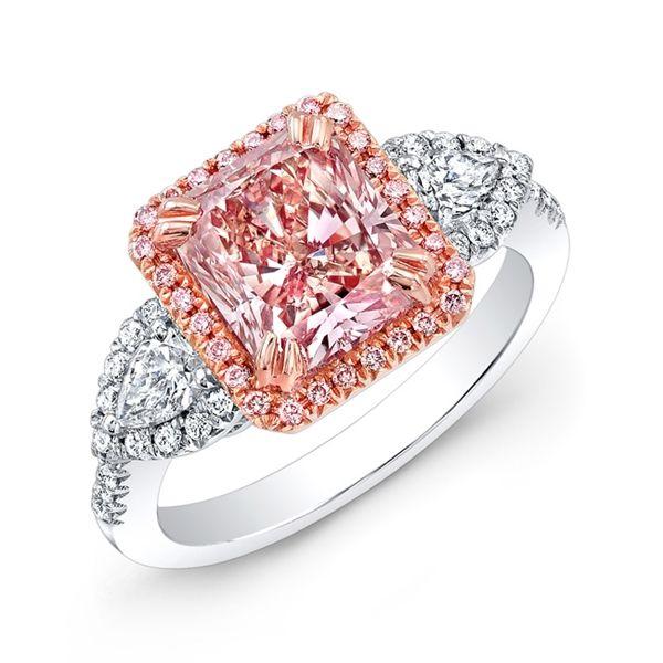MK Diamonds & Jewelry radiant #pink #diamond ring #brittspick