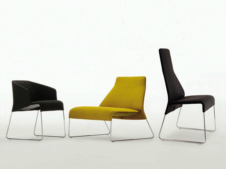 LAZY U002705 Chaise Avec Dossier Haut By Bu0026B Italia Design Patricia Urquiola