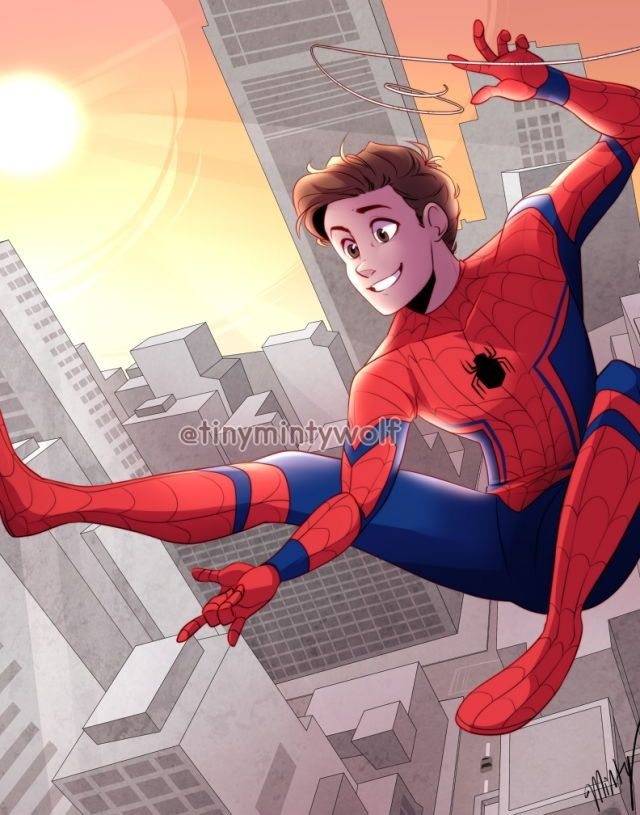 Spider-Man Homecoming!!  By Tinymintywolf