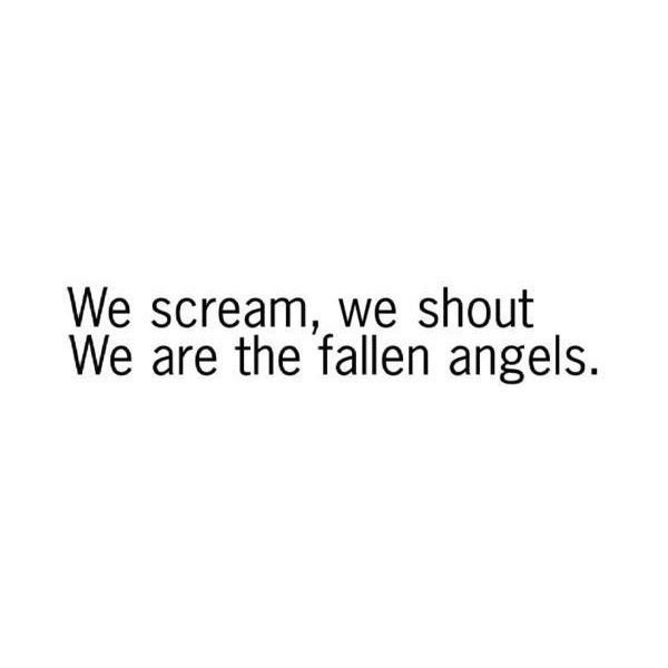 Fallen Angel Lyrics