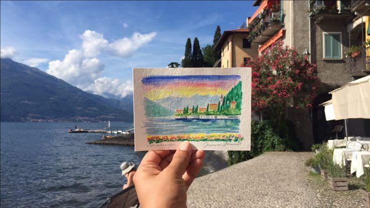 Varenna, Lake Como. Italy #italy #como #varenna