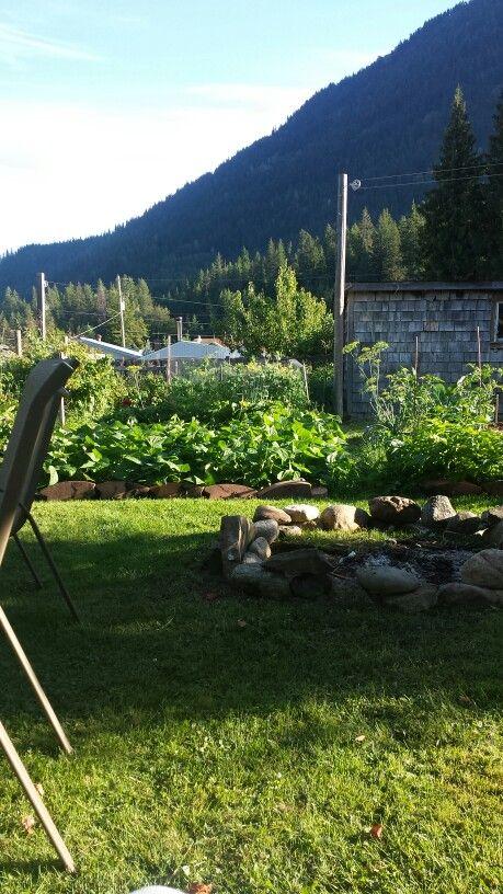 Ma's BC garden