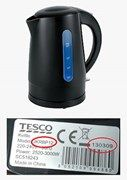 Tesco Rapid Boil kettle Model JKRBP12  Batch code starting with 13 in format 13mmdd - see images for further detail. Do not use the Kettle and return it to a Tesco store, superstore or Extra for a full refund. No receipt is required.  For further information please contact Tesco on 0800 50 55 55