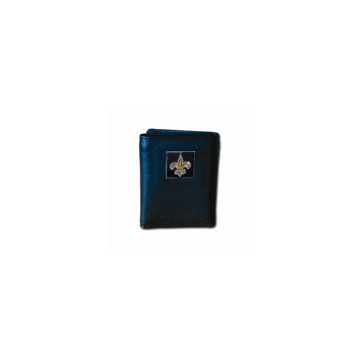 NFL Saints Tri-fold Wallet - Embossing Personalized Gift Item