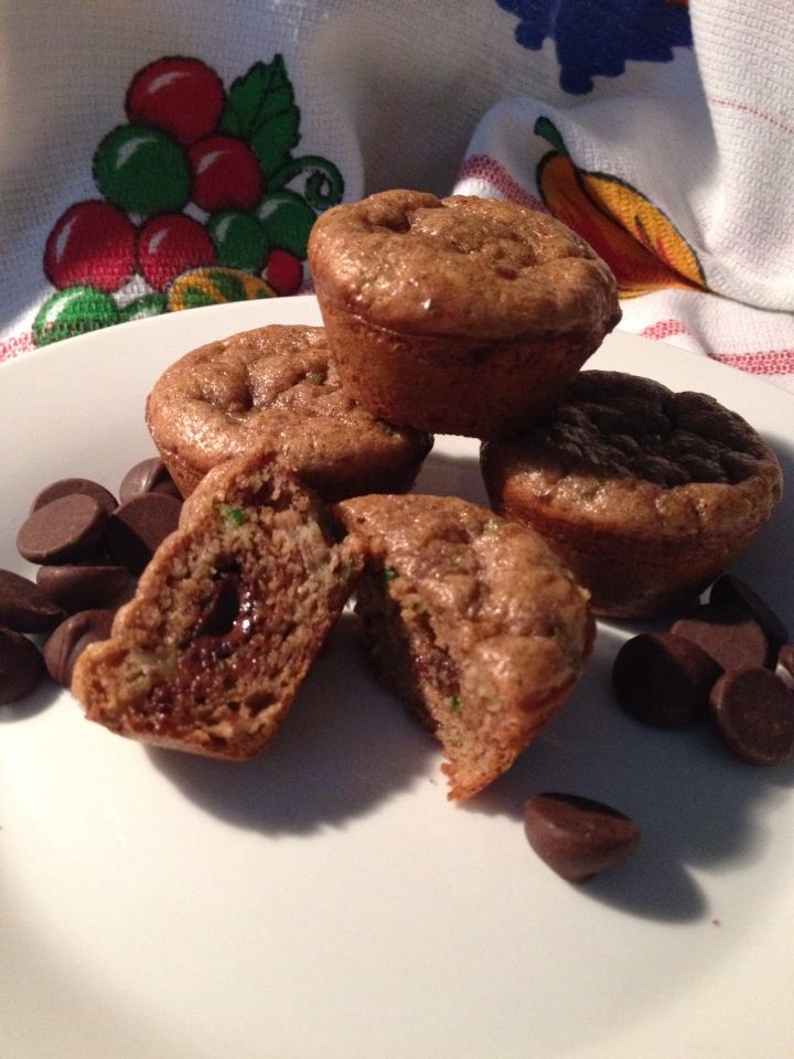 Flourless sugarless almond butter mini muffins they taste delicious ...