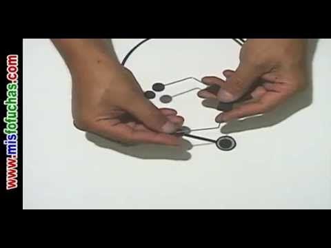 Cómo hacer estetoscopio en foamy para fofucha doctora o fofucho médico