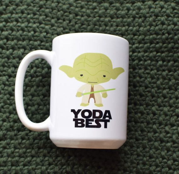 "Star Wars ""Yoda Best"" Coffee Mug - 50 Unique Star Wars Gifts any Star Wars fan will love!"