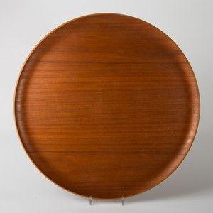 Tischtablett, Holz / Teak, Entwurf H. Engholm und Svend Willumsen 1950er, für Fritz Hansen | Lauritz.com