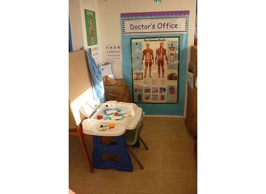 Dramatic Play Area: Doctor's Office