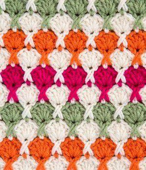 Tığ işi Çiçek Buketi Battaniye Modeli