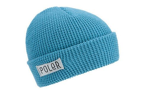 Poler Worker Man Beanie - Columbian Blue www.westgoods.co