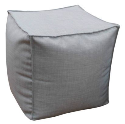 This stylish bean cube is ideal for sitting on, or even putting your feet up #CityFields #Rest