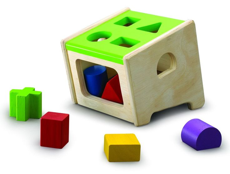 Wonderworld Sorter Toy, Neo. Design of sloping base enhancing the vision when children are playing. Helps children develop matching, sorting and spatial skills. Made in Thailand from rubber wood and strictly using non-toxic paints, dyes and lacquers and formaldehyde free glue; Packaging is made from at least 70% recycled paper.