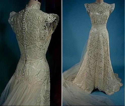 Best 16 Vintage wedding dresses ideas on Pinterest | Retro weddings ...