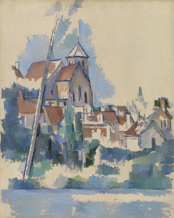 Paul Cezanne / Church at Montigny-sur-Loing / 1898 / Oil on canvas / The Barnes Foundation, Philadelphia.
