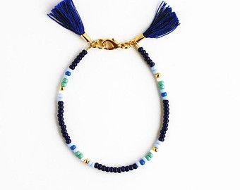 Bracelet Perles Bracelet Wrap Bracelet Mala Boho par feltlikepaper