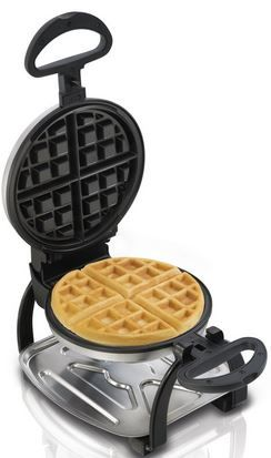 26010 Hamilton Beach Flip Belgian Waffle Maker: ideal baking tool for Belgian style waffle, deep discounted price.