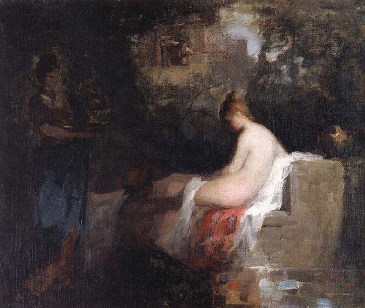 After the Bath, Nicolae Grigorescu