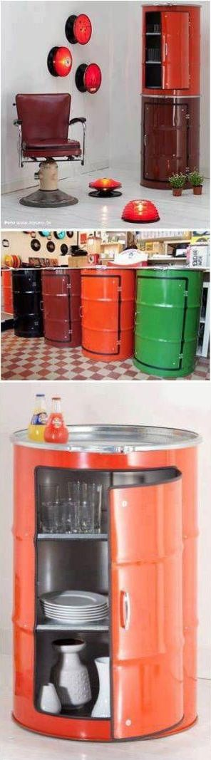 Give Metal Barrels A Second Life
