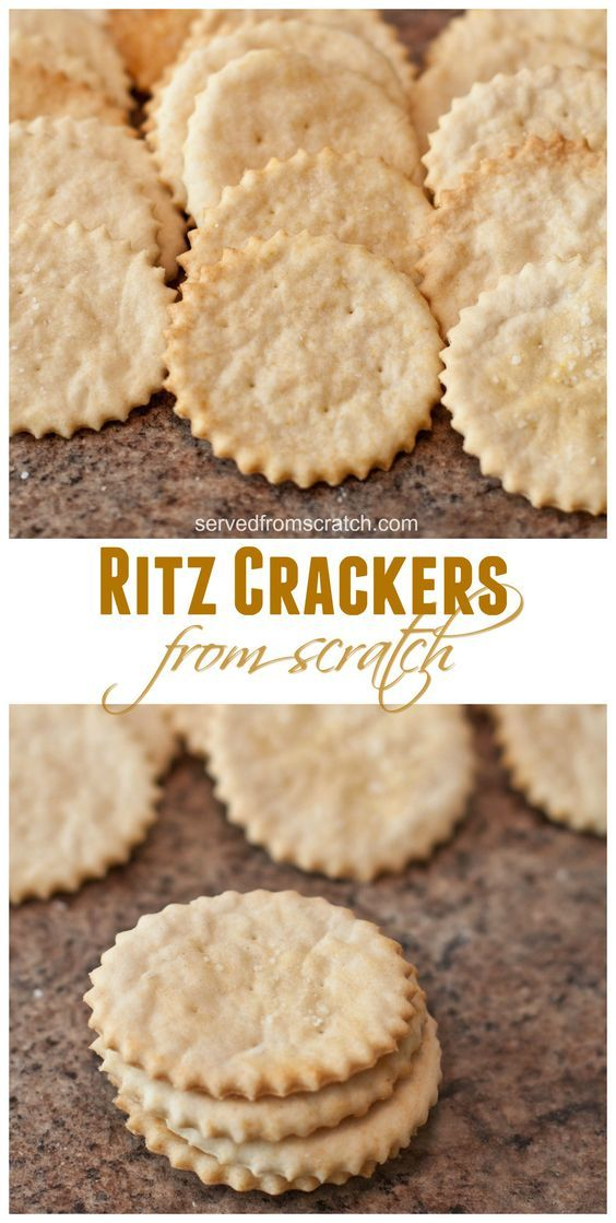 Ritz Crackers From Scratch – HEALTHY FOOD