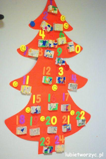 Przedszkolny kalendarz adwentowy ;)  #kalendarz #kalendarzadwentowy #adwent #choinka #calendar #advent #adventcalendar #christmastree #święta #bożenarodzenie #christmas #przedszkole #preschool #kindergarten #nurseryschool #diy #zrobtosam #handmade #tutorial #poradnik #jakzrobić #howto #sposóbwykonania #instrukcja #instruction #dekoracje #decorations #christmasidea #craft #crafts #papercraft #papercrafts #kidscraft #kidscrafts #lubietworzyc